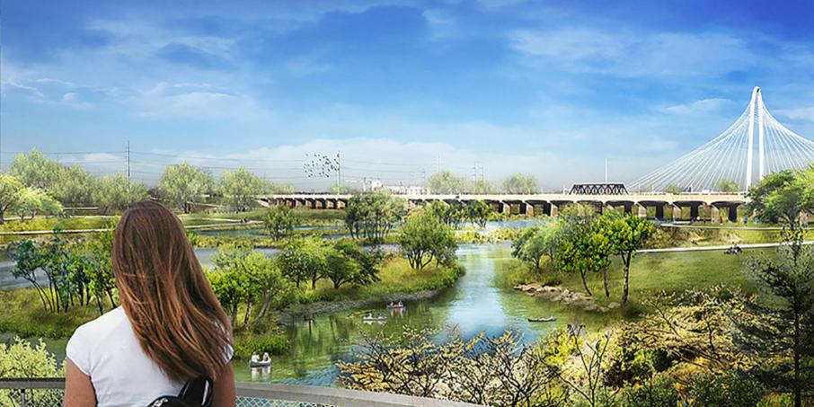 Dallas prépare le plus grand parc urbain des USA